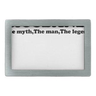 Papa Man Myth Legend t-shirt.png Belt Buckle