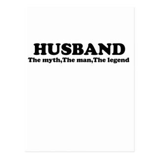 Papa Man Myth Legend t-shirt.png Postcard