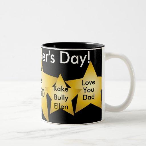 ¡Papá mi héroe! - Personalizar-Personalizar Taza De Café