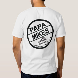 Papa Mikes Homemade Jerky Logo T Shirt
