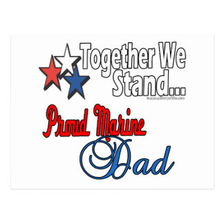Papá militar orgulloso postales