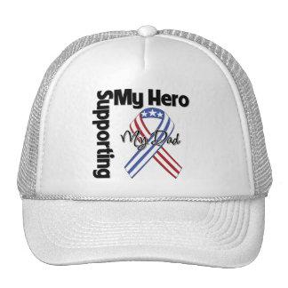 Papá - militar que apoya a mi héroe gorro