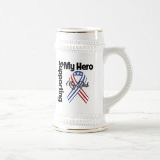 Papá - militar que apoya a mi héroe tazas de café