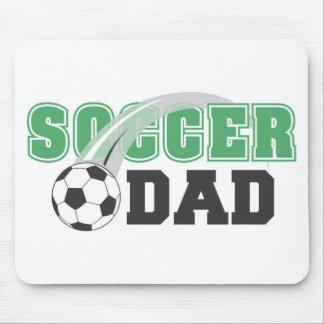 Papá Mousepad del fútbol del día de padre