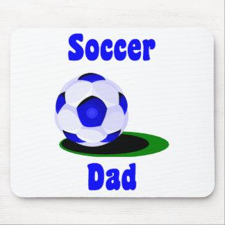 Papá Mousepad del fútbol Tapete De Ratones