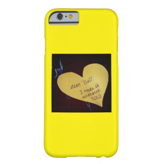 Papá muerto del golpe funda barely there iPhone 6