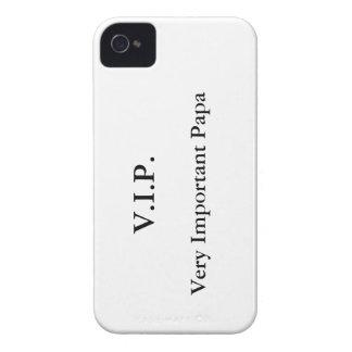 Papá muy importante funda para iPhone 4 de Case-Mate
