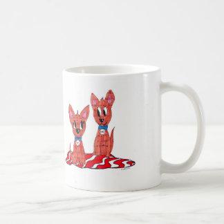 Papá n yo tazas de café