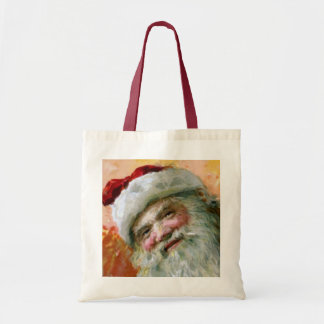 Papá Noel 2 Bolsa Tela Barata