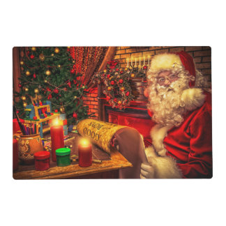 Papá Noel 4 Salvamanteles