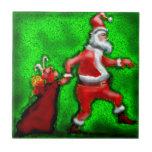 Papá Noel Azulejos Ceramicos