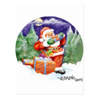 Papa Noel by Albruno Postcard