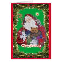 Papa Noel Card