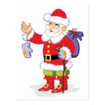 Papá Noel clásico Postal