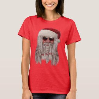 Papá Noel con las sombras y teme la camiseta