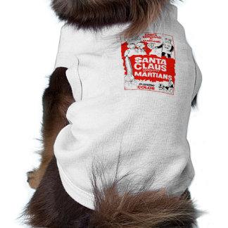 Papá Noel conquista la B-Película Dogwear de Marti Playera Sin Mangas Para Perro