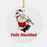 Papá Noel de baile español Adornos