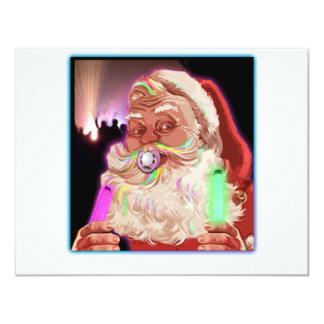 Papá Noel delira al raver divertido de Santa Comunicado