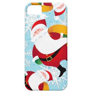Papá Noel divertido, caso del iPhone Funda Para iPhone SE/5/5s