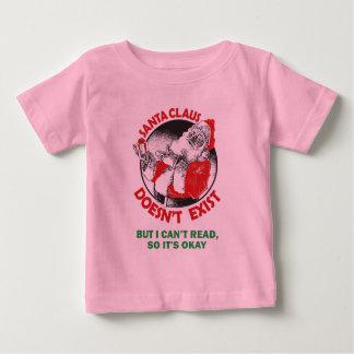 Papá Noel divertido embroma la camisa - Santa no