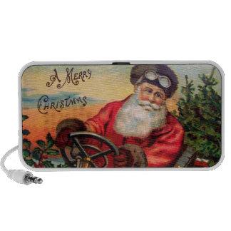 Papá Noel en automóvil Altavoces