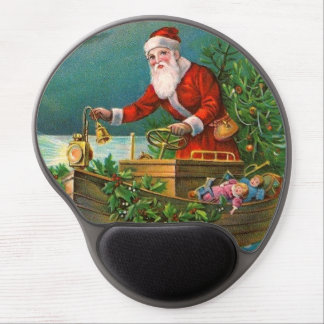 Papá Noel en barco