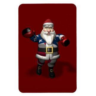 Papá Noel en el San Esteban Rectangle Magnet