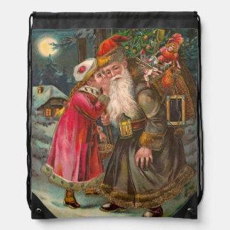 Papá Noel en su manera 1 Mochila