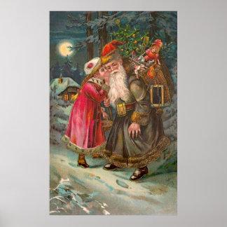 Papá Noel en su manera 1 Posters