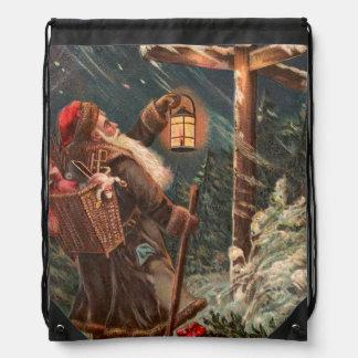 Papá Noel en su manera 2 Mochila