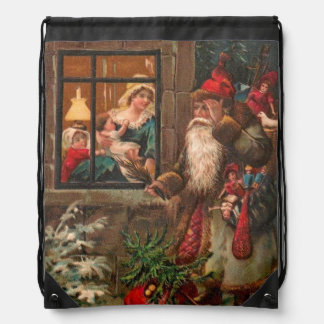 Papá Noel en su manera 4 Mochila