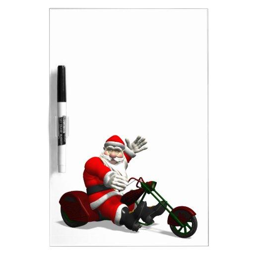 Papá Noel en Trike Pizarra