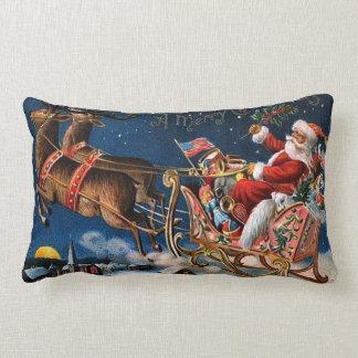 Papá Noel está viniendo a la ciudad Almohada