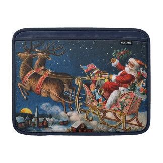 Papá Noel está viniendo a la ciudad Fundas Para Macbook Air