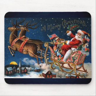 Papá Noel está viniendo a la ciudad Alfombrilla De Ratones