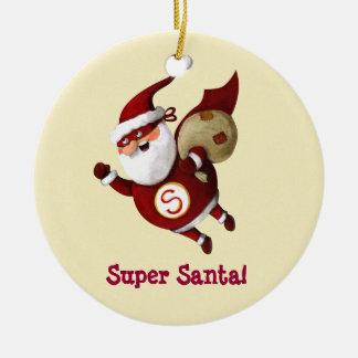 Papá Noel estupendo Ornamento Para Arbol De Navidad