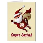 Papá Noel estupendo Felicitacion