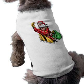 Papá Noel estupendo Camiseta De Perro