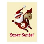 Papá Noel estupendo Tarjetas Postales