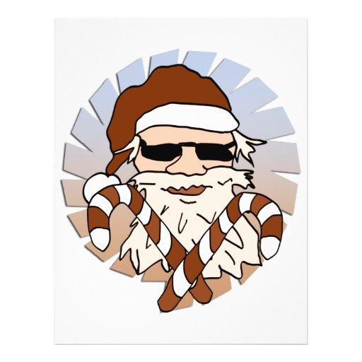 Papá Noel Flyer A Todo Color