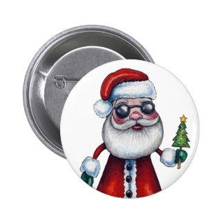 Papá Noel fresco Pins