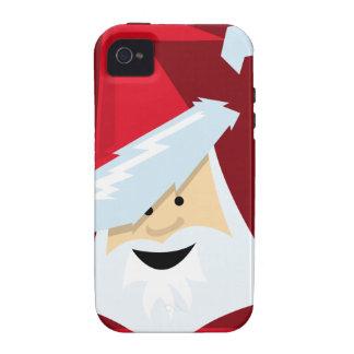 Papá Noel Vibe iPhone 4 Funda