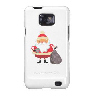 Papá Noel Galaxy S2 Funda