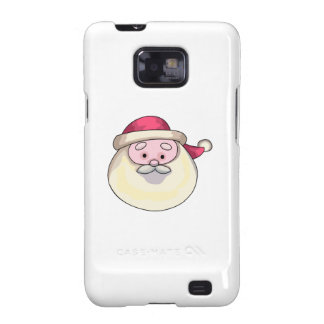 Papá Noel Samsung Galaxy S2 Carcasas
