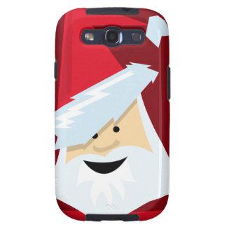 Papá Noel Samsung Galaxy S3 Cárcasa