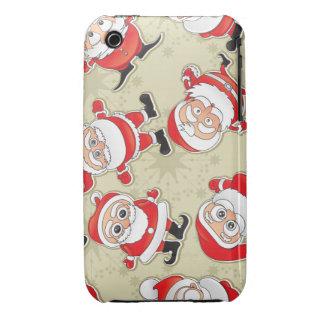Papá Noel Case-Mate iPhone 3 Protector