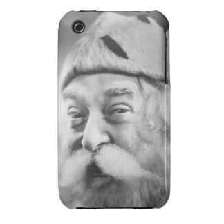 Papá Noel iPhone 3 Case-Mate Carcasa