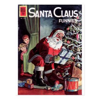 Papá Noel Funnies Postal