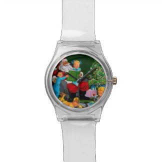 Papá Noel Funnies - Storytime Reloj