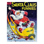 Papá Noel Funnies - trineo de Rocket Postal
